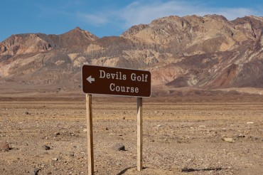 The Devils Golf Course