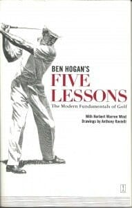Golf Library Ben Hogan Five Lessons