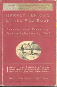 Golf Library Harvey Penick's Little Red Book