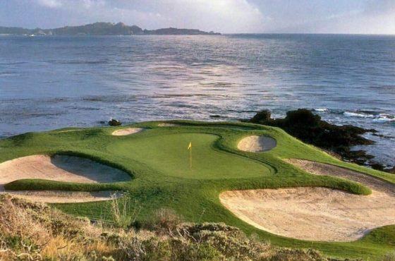 Pebble Beach Golf Club, here we come!