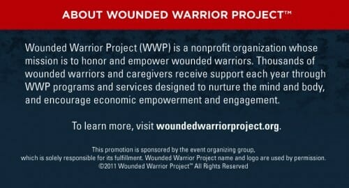 About the Wounded Warriors Project