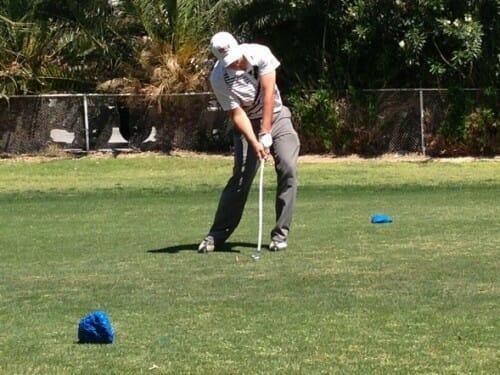 UNLV Golfer James Feutz