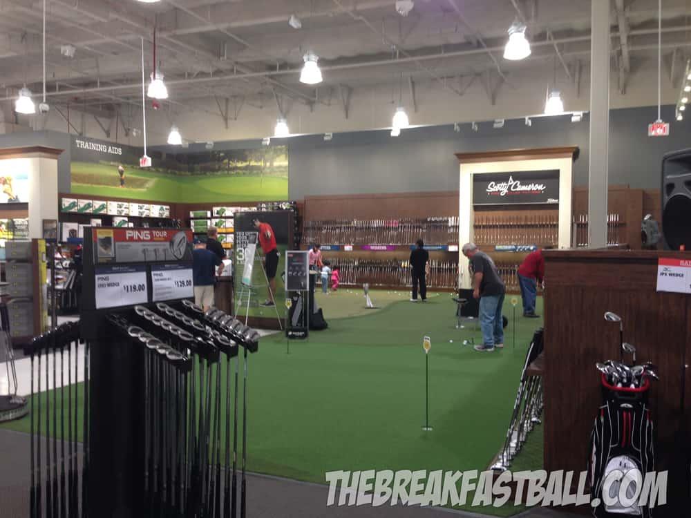 Golf Galaxy Grand Opening | The Breakfast Ball Golf Galaxy