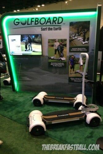 Golfboard at the PGA Show