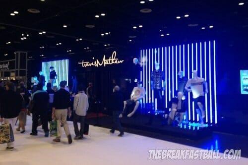 Travis Mathews Booth - PGA Show