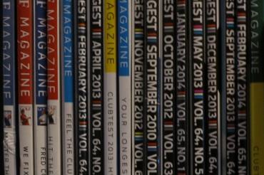 Throw those magazines away!