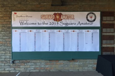 The 2015 Saguaro Amateur