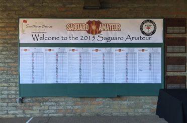 The 2015 Saguaro Amateur