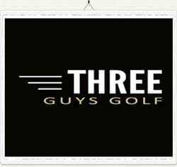 Three Guys Golf Logo