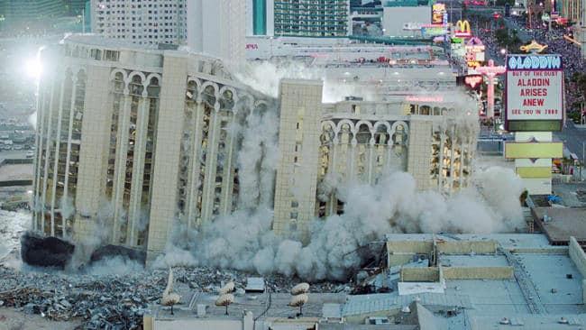 Vegas Implosion