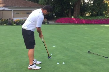 A Few Easy Putting Drills