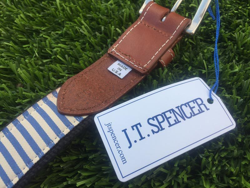 JT Spencer Embroidered Belt