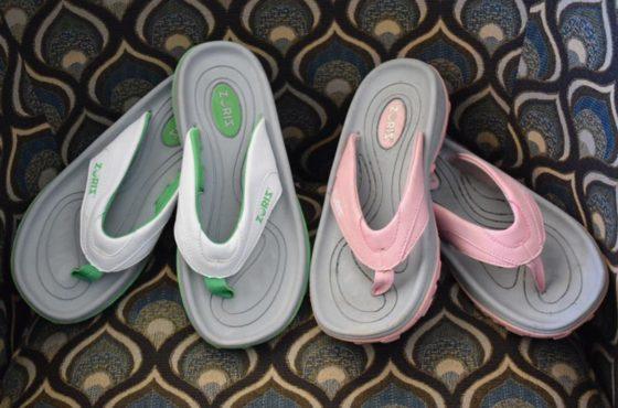 The Crazy Comfortable Zoriz Golf Sandal