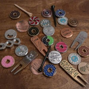 Ball Markers Divot Tools