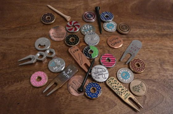 Pocket Change: Ball Markers and Divot Tools