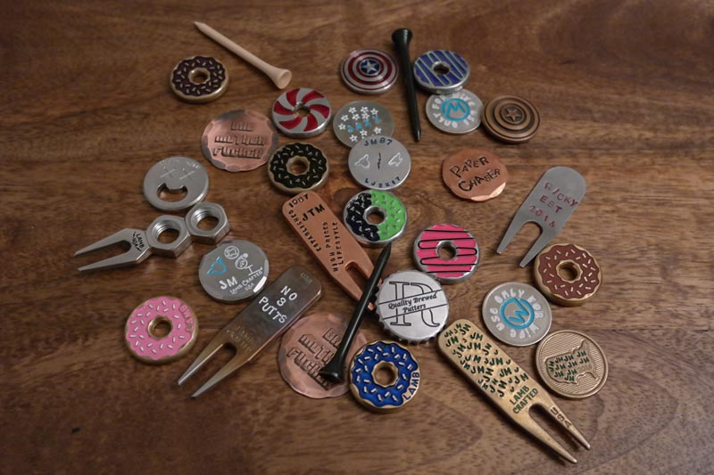 Pocket Change Ball Markers And Divot Tools The Breakfast Ball