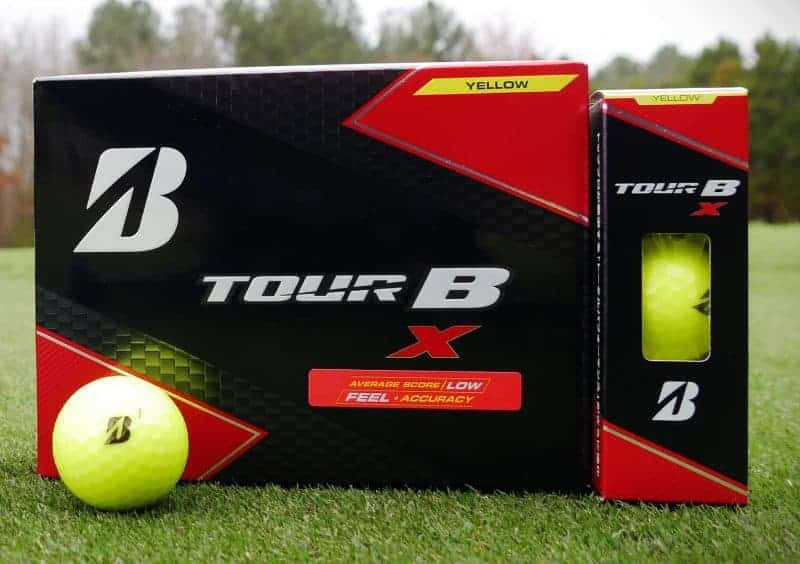 Bridgestone golf s tour b and xs balls the