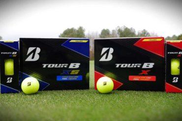 Bridgestone Golf's TOUR B X and XS Golf Balls