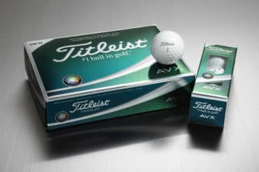 The New Titleist AVX Golf Ball