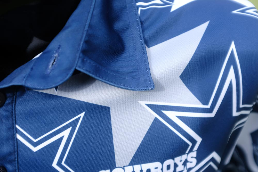 4ad051061 The Dallas Cowboys Fancy Polo is a great way to rep your team and enjoy  some golf.