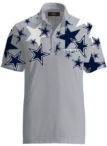 49d39cc46 Loudmouth Golf Dallas Cowboys Fancy Polo
