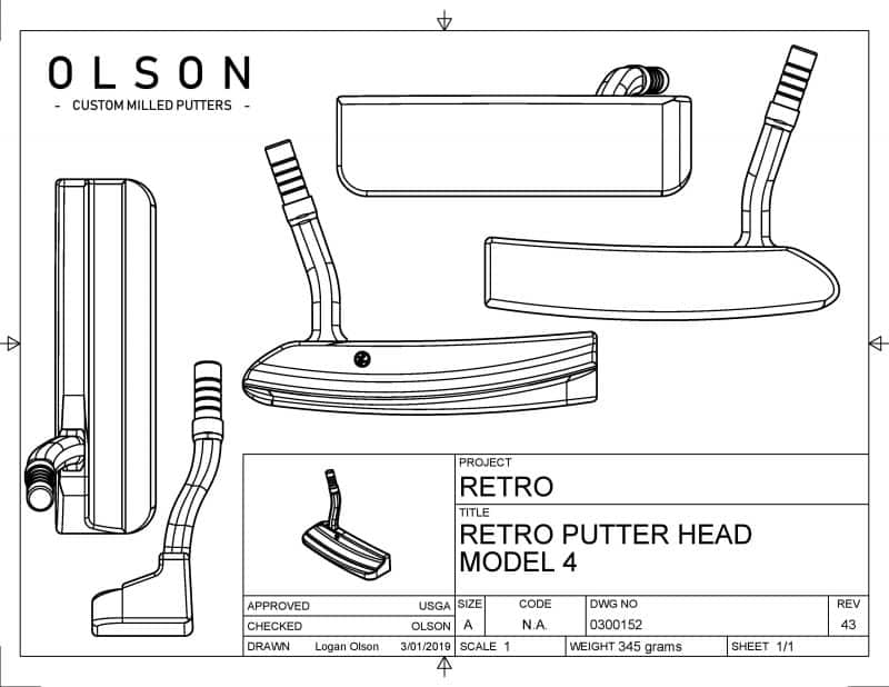 Olson Retro Cad Design