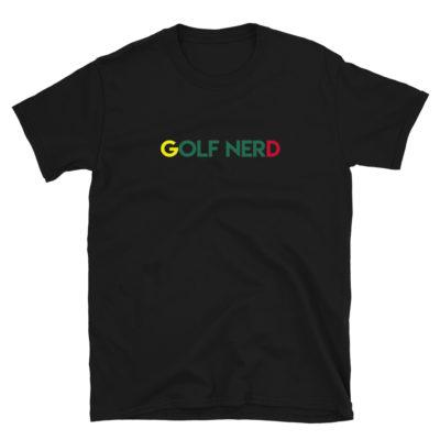 Augusta Golf Nerd Short-Sleeve Unisex T-Shirt