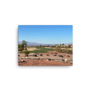 Rio Secco Golf Club Canvas Print 1 of 2