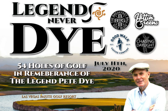 Legends Never Dye Golf Outing