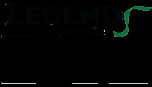 Legends Never Dye Logo