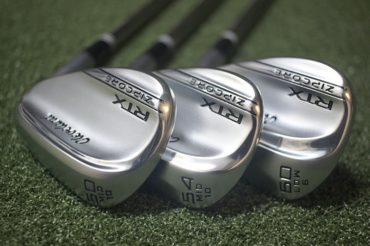 The new RTX ZIPCORE Wedges from Cleveland Golf